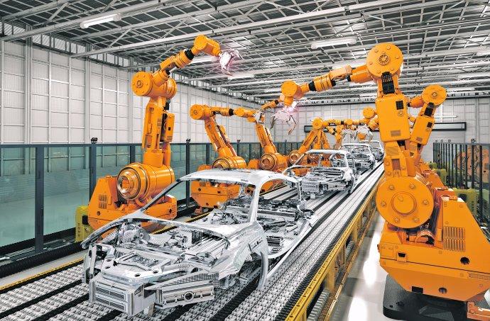 Nejméně kvalifikované zaměstnance mohou dále nahrazovat roboti. Foto: Adobe Stock