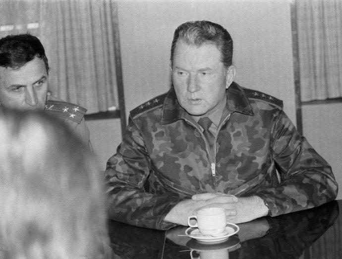 Generál Eduard Vorobjov na své působení v Československu nevzpomíná rád. Foto: ČTK