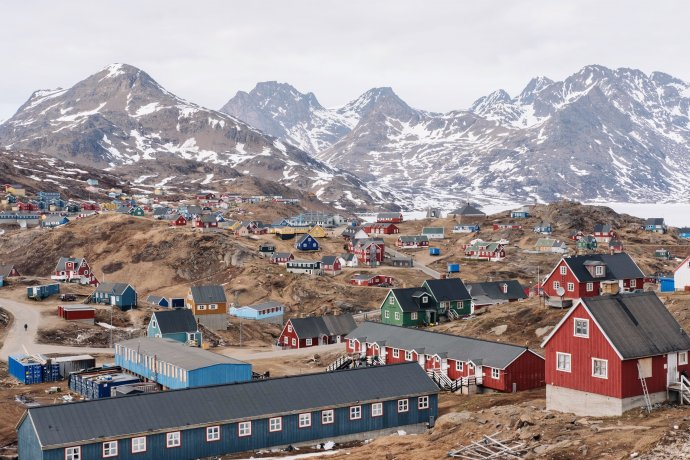 Tasiilaq v Grónsku. Foto: Filip Gielda, Unsplash