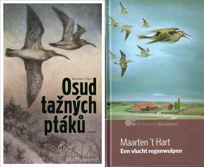 Obálky českého a nizozemského vydání.
