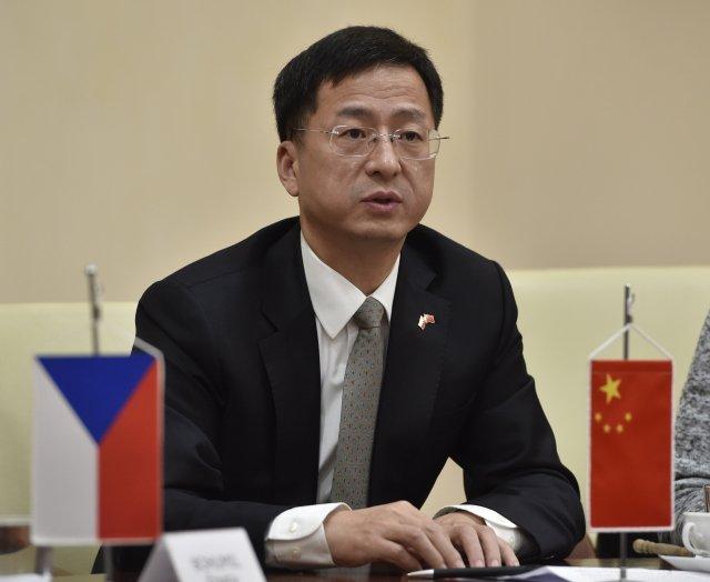 Velvyslanec Čínské lidové republiky Čang Ťien-min. Foto:ČTK