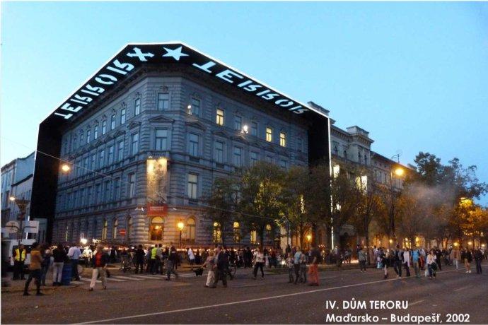 Inspirace pro Muzeum paměti 20. století. Dům teroru v Budapešti. Foto: Repro MHMP