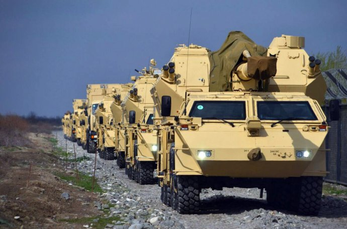 Dana-M1 vÁzerbájdžánu. Foto: Ázerbájdžánské ministerstvo obrany