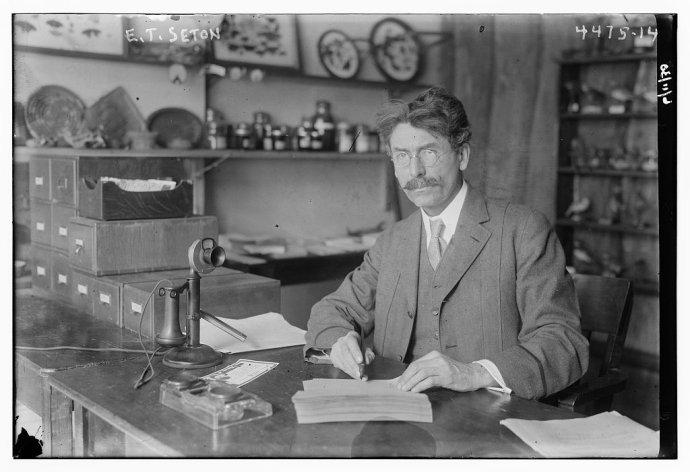 Ernest Thompson Seton. Foto: Library of Congress, Wikimedia Commons