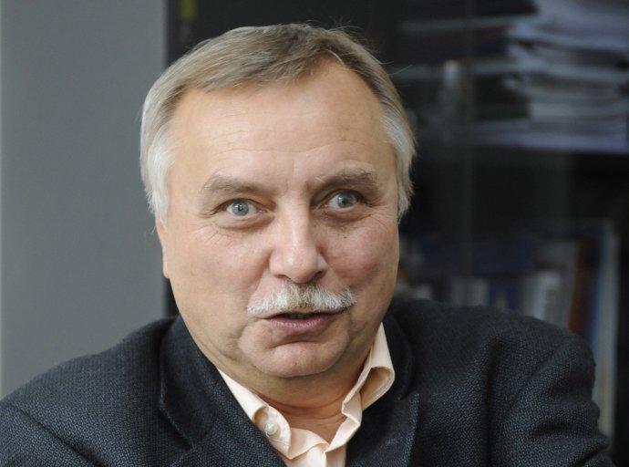 Oskar Krejčí, poradce posledního předlistopadového předsedy vlády Ladislava Adamce. Foto: ČTK