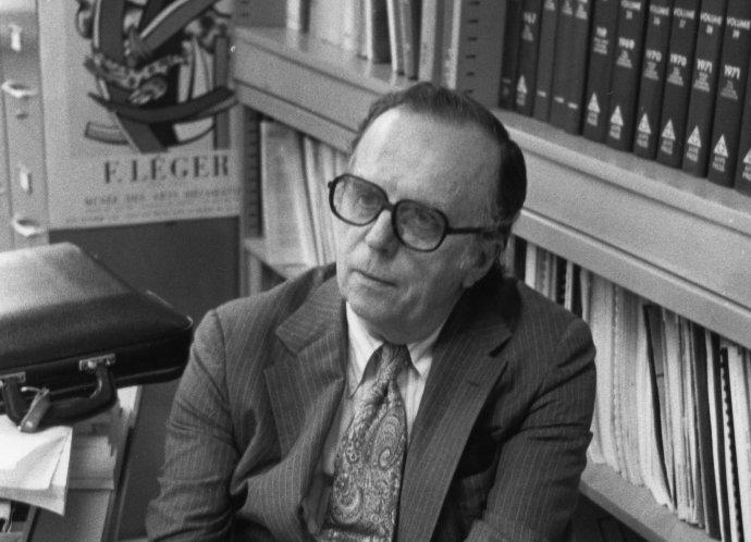 J. C.R. Licklider, který prosadil ARPANET. Foto: HCI Pioneers