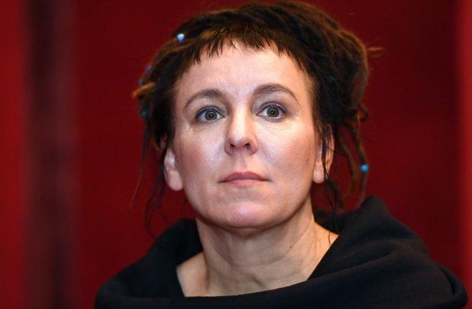 Nobelovu cenu za literaturu za rok 2018 získala 10. října 2019 polská spisovatelka Olga Tokarczuková. Foto: ČTK