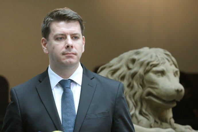 Jan Skopeček chce v rozpočtu seškrtat sto miliard výdajů. FOTO: Ludvík Hradilek, Deník N