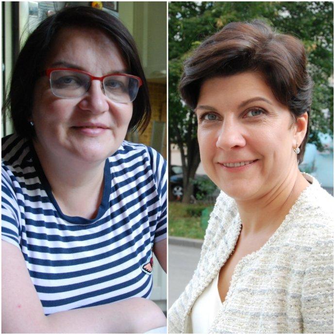 Dvě ruské intelektuálky, Julie Galjaminová a Valerie Kasamaraová, dva různé osudy. Foto: Petra Procházková, Deník N