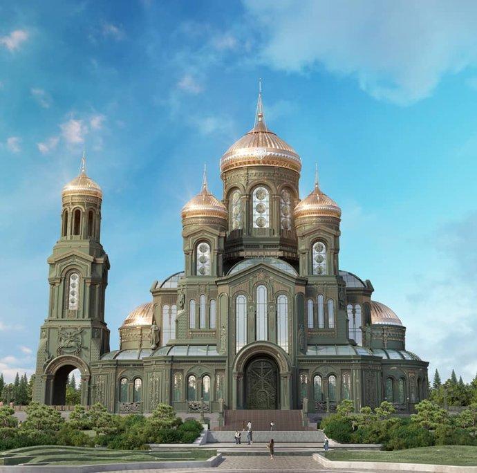 Chrám Vítězství. Foto: Ruské ministerstvo obrany