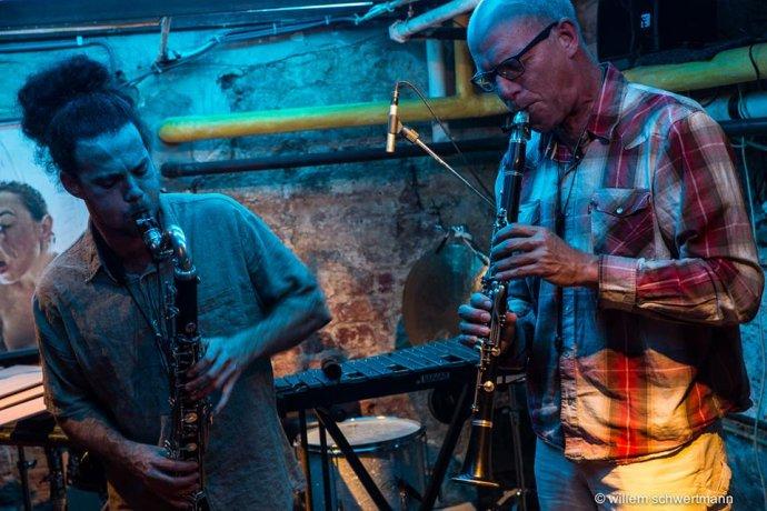 Michael Moore– Ziv Taubenfeld Duo. Foto: Jazz Goes to Town