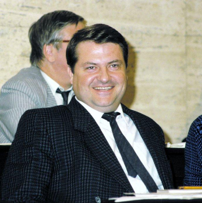 Vasil Mohorita, první tajemník ÚV KSČ, ve federálním shromáždění ČSSR. Foto: ČTK