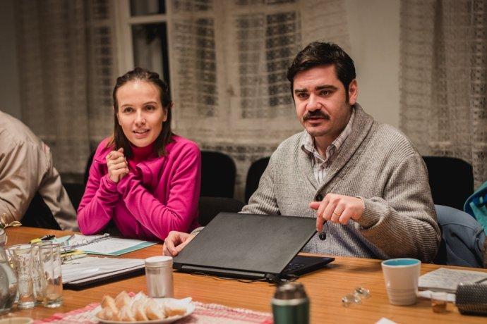Tereza Voříšková a Vojta Kotek. Foto: Cinemart