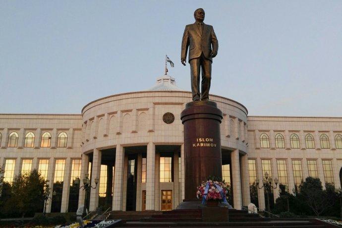 Uzbekistán, muzeum diktátora Islama Karimova. Foto: Monika Durajová