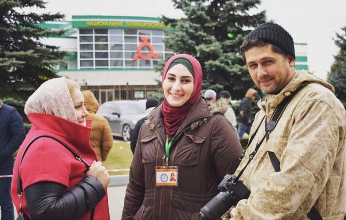 Izabella Jevlojevová pomáhala ruským i zahraničním novinářům získat informace o událostech v Ingušsku. Zdroj: archiv Izabelly Jevlojevové