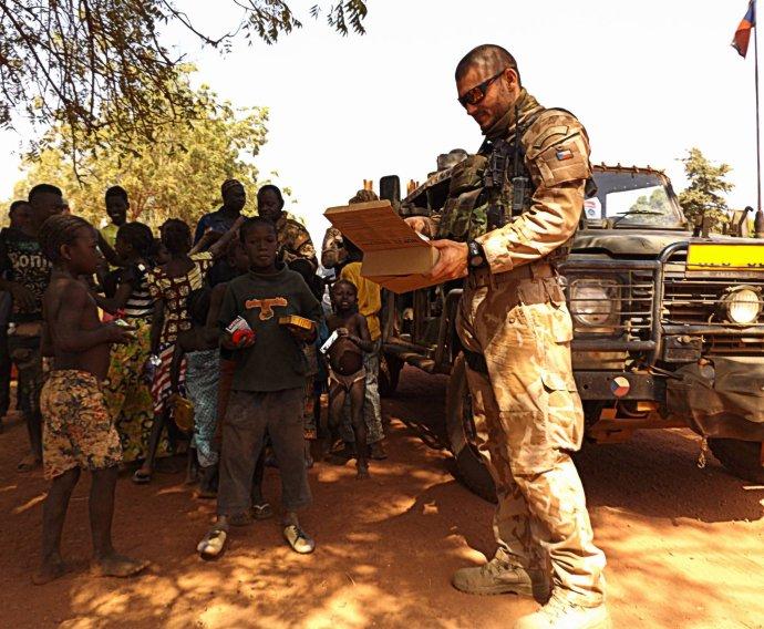 Čeští vojáci při nasazení v Mali. Foto: Armáda České republiky