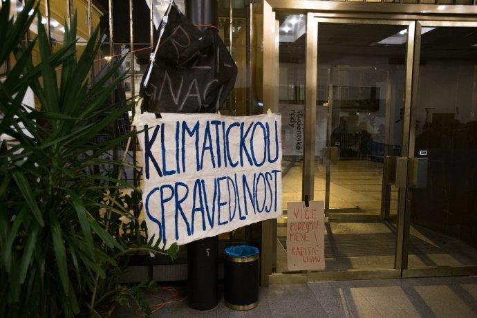 Češi klimatickou změnu řešit chtějí. Stávky ale nevnímají moc pozitivně. Foto:Adam Hecl, DeníkN