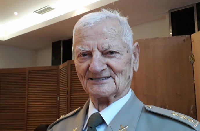 Tichomír Mirkovič, místopředseda Československé obce legionářské. Foto:Jan Wirnitzer, DeníkN