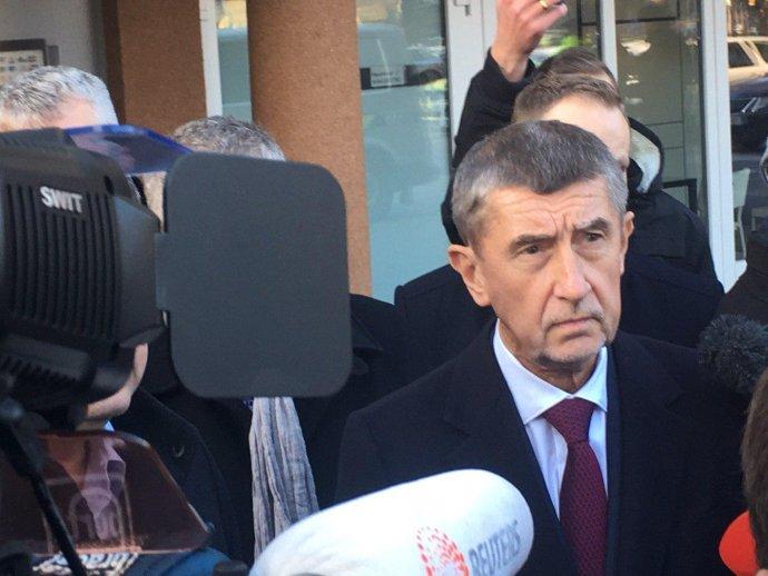 Andrej Babiš v Ostravě. Foto: Prokop Vodrážka, Deník N