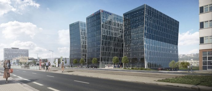 Jednu ze tří budov vpražské Libni obsadí společnost FutureLife. Foto: Kaprain
