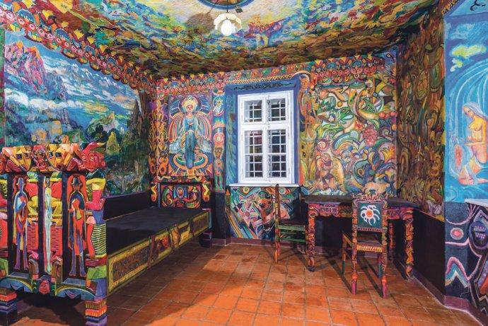 """Slavné Portmoneum - tiskařův domek """"designovaný"""" Josefem Váchalem - je dnes kulturní památkou. Foto: Tomáš Čermák, Regionální muzeum Litomyšl"""
