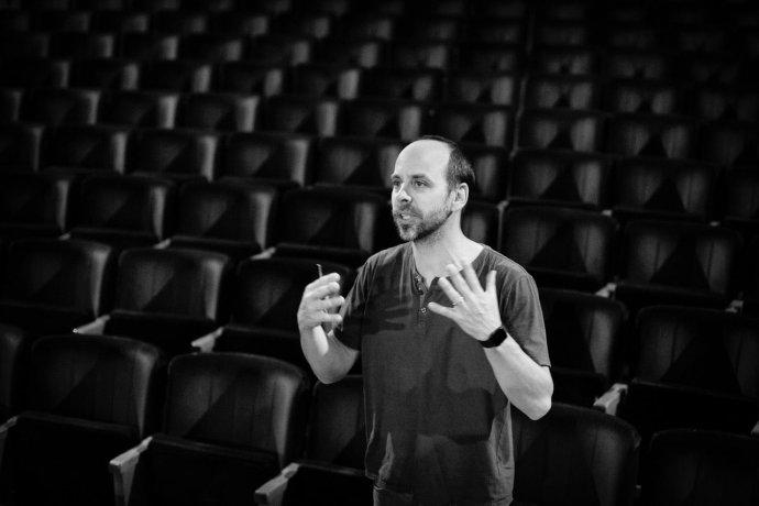 Petr Michálek, ředitel a režisér Městského divadla Zlín. Foto: Marek Malůšek