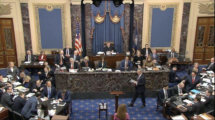 Ilustrační snímek. Foto:ČTK/Senate Television via AP