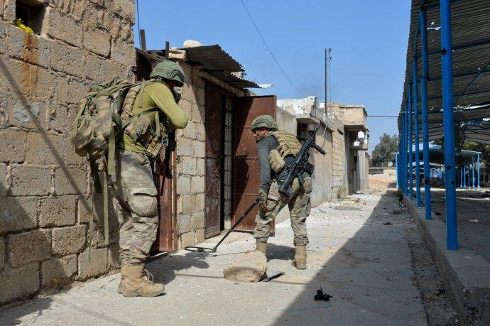 Průzkumníci tureckých ozbrojených sil, leden 2020. Foto:generální štáb turecké armády, Türk Silahli Kuvvetleri, flickr
