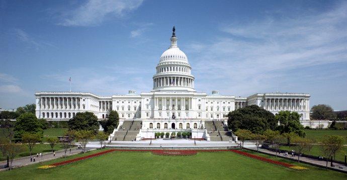 Budova Kongresu, kde sídlí obě komory. Foto:Americký kongres