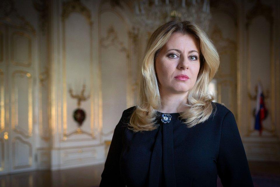 Slovenská prezidentka Zuzana Čaputová. Foto:Tomáš Benedikovič, DenníkN