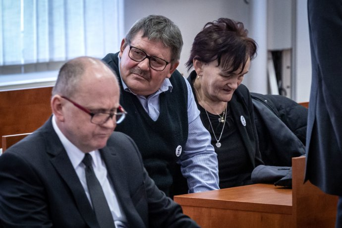 Rodiče zavražděného novináře Jána Kuciaka Jozef aJana. Foto:Tomáš Benedikovič, DenníkN