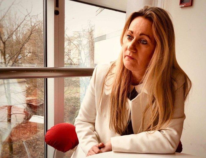 Končící europoslankyně June Mummeryová. Foto: Markéta Boubínová, Deník N