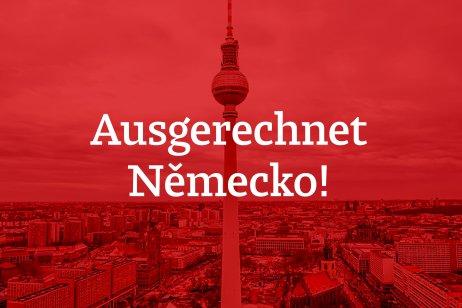 Ausgerechnet Německo! je seriál DeníkuN, ve kterém berlínský zpravodaj Pavel Polák shrnuje nejdůležitější týdenní dění unašeho největšího souseda. Grafika: Marcela Schneiberková, Deník N