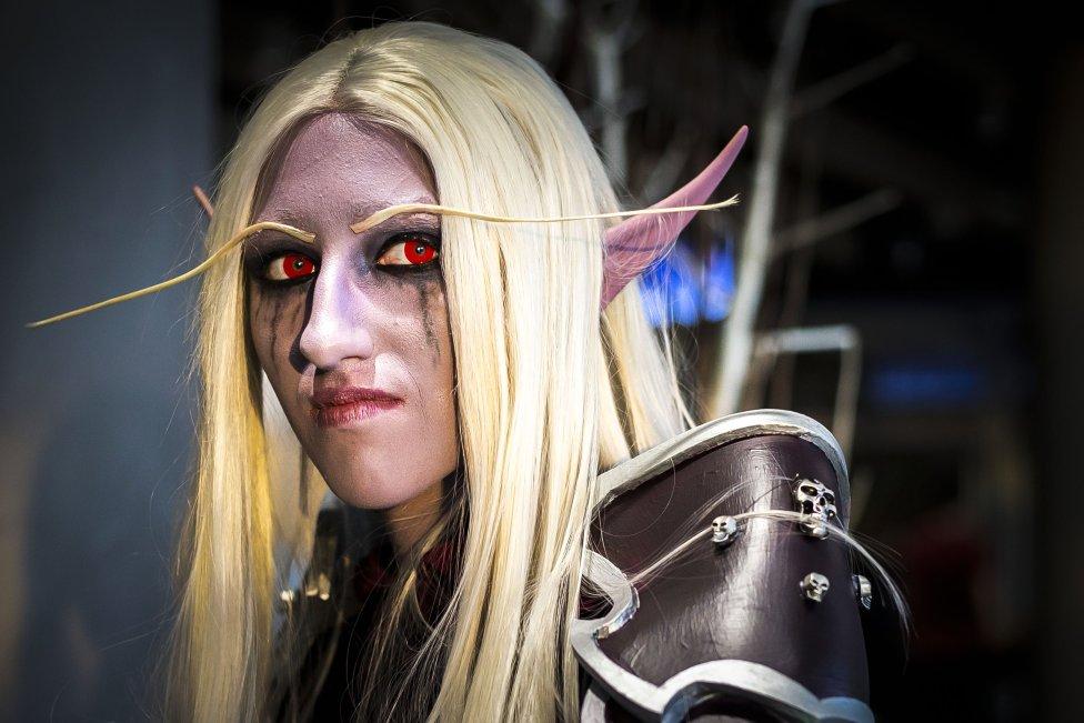 Krvavého elfa viděti: na Comic Conu býti. Foto: Gabriel Kuchta, Deník N