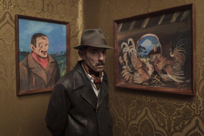 Italský film Ukrytý (Hidden Away) pojednává onaivistickém švýcarsko-italském malíři Antoniu Ligabueovi. Foto: Chico De Luigi