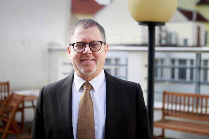 Izraelský velvyslanec Daniel Meron. Foto:Adam Hecl, DeníkN