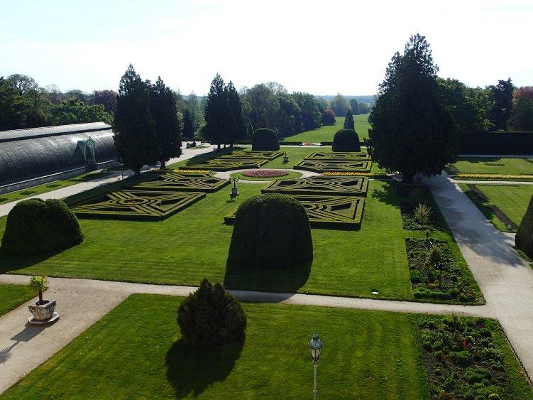 Francouzská zahrada zámeckého parku v Lednici. Foto: NPÚ