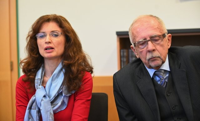 Zástupkyně ombudsmana Monika Šimůnková aombudsman Stanislav Křeček. Foto:ČTK