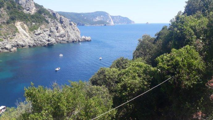 Moře na ostrově Korfu vŘecku: Foto:DeníkN
