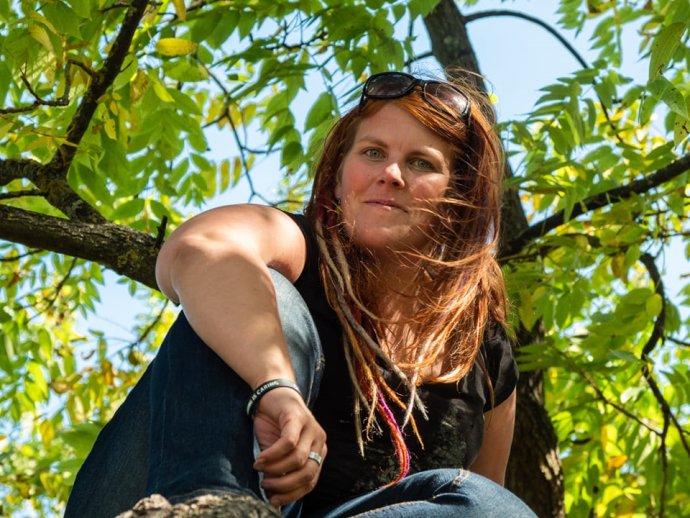Ágnes Němečková působí ve spolku Juno Moneta, který hájí práva pacientů, především rodičů adětí. Foto:archiv Ágnes Němečkové