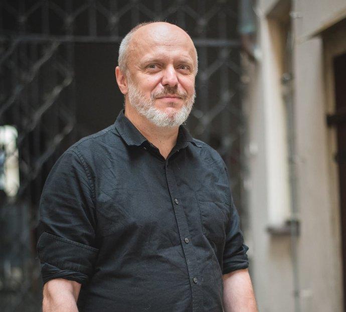 Dramatik a ekonomický matematik René Levínský. Foto: Lenka Glisníková