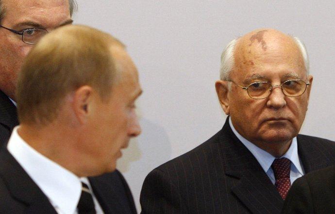 Gorbačov chtěl Rusko před třiceti lety změnit. Putin ho chce mít takové, jakým bylo vždy. (Současný abývalý prezident na snímku zroku 2006). Foto:ČTK/AP
