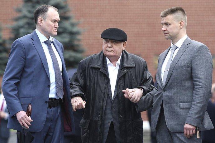 Michail Gorbačov vloni v89letech. Zdroj: duma.gov.ru