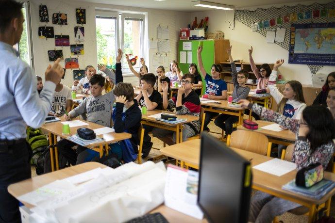 Tomáš Chrobák, učitel matematiky atělocviku ze Základní školy Baška na Frýdecko-Místecku. Foto:Kateřina Lánská, EDUin