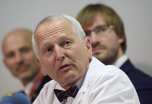 Přednosta kardiocentra IKEM Jan Pirk. Foto:ČTK