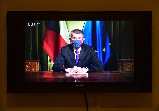 Premiér Andrej Babiš pronesl vpondělí projev, za nějž by se nemuseli stydět ani Merkelová či Macron. Foto:ČTK