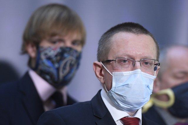 Ředitel Ústavu zdravotnických informací astatistiky Ladislav Dušek. Foto:ČTK