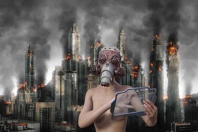 Apokalyptická četba. Foto: Pxfuel.