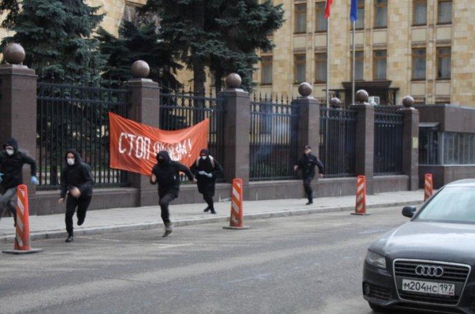 Incident z české ambasády v Moskvě. Foto: