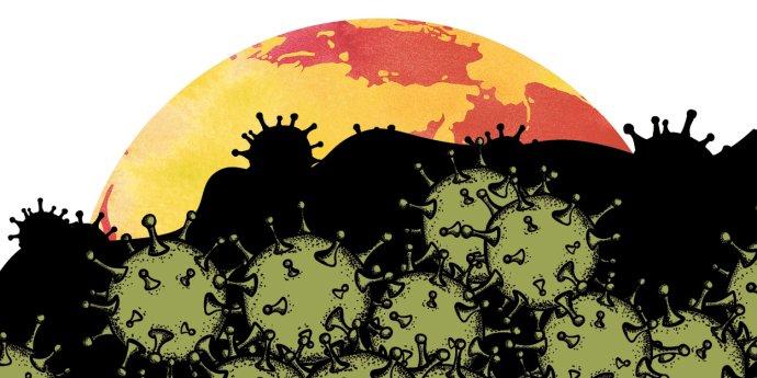 Zatímco svět bojuje s epidemií koronaviru, jiné závažné problémy nejsou tak vidět. Jenže nezmizely, některé se naopak prohlubují. Foto: Deník N